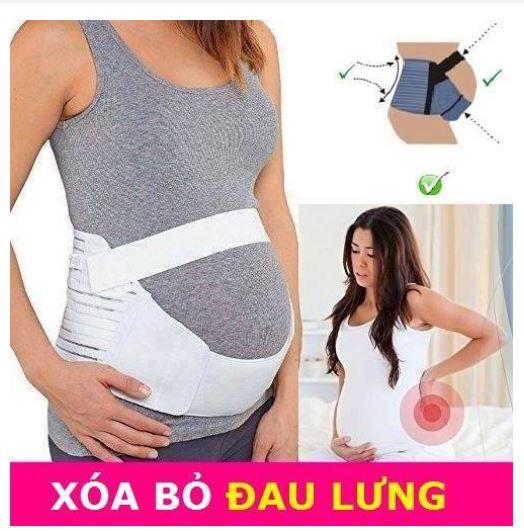 Belly Brace giúp Mẹ bầu không đau lưng, cột sống khi thai nhi quá nặng