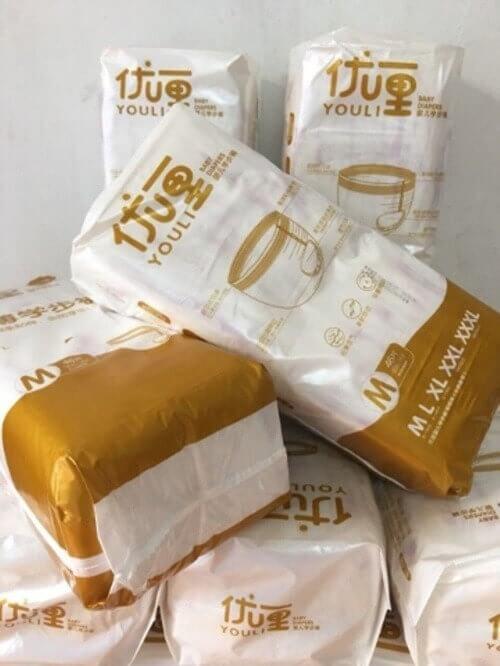 Bỉm Youli vàng nhập khẩu