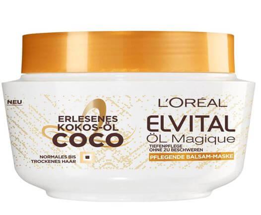 Kem ủ tóc Loreal dòng Elvital cung cấp dưỡng chất cho tóc