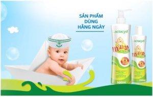 Sữa tắm lactacyd cho trẻ sơ sinh là sản phẩm của đơn vị uy tín