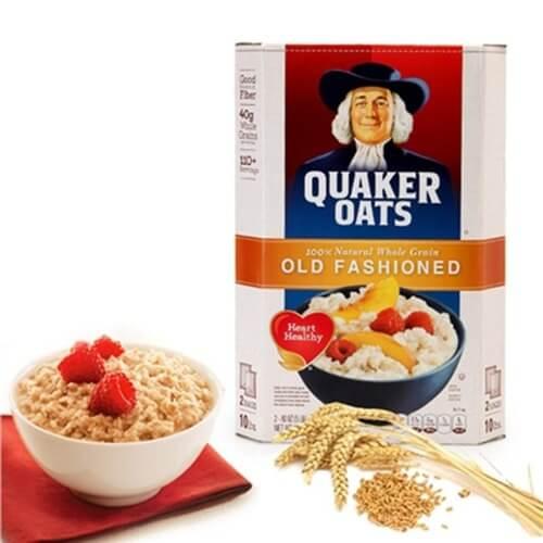 Yến mạch Quaker Oats giúp giảm cân hiệu quả