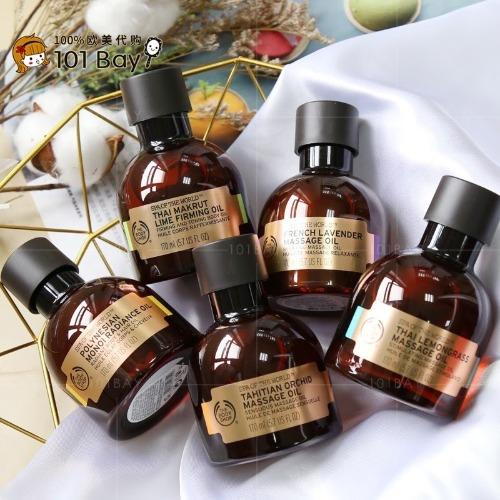Tinh dầu Body Shopgồm nhiều mùi hương khác nhau