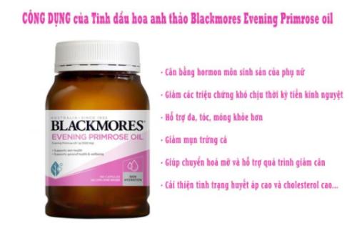 Tinh dầu Blackmore mang đến nhiều công dụng cho sức khoẻ và làm đẹp