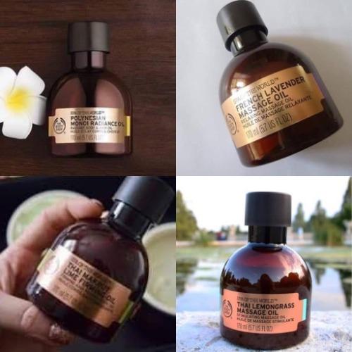 Tinh dầu massage được bán phổ biến tại trang thương mại điện tử