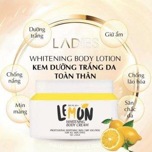 Lemon giúp dưỡng trắng, chống nắng, giữ ẩm