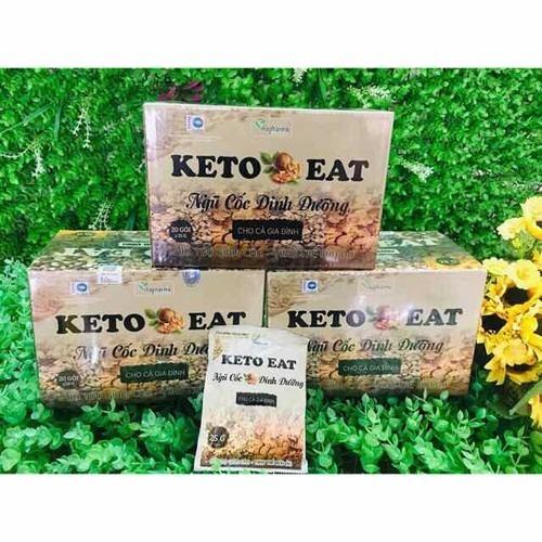 Ngũ cốc giảm cân Keto chứa nhiều chất xơ