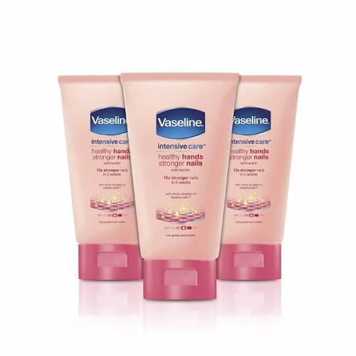 Kem dưỡng ẩm da tay và móng tay Vaseline