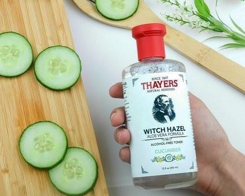 Thayers Cucumber giúp làm sạch sâu, dưỡng ẩm, hạn chế mụn