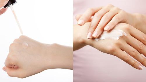 Serum là chất lỏng nên thẩm thấu sâu hơn so với kem dưỡng trắng