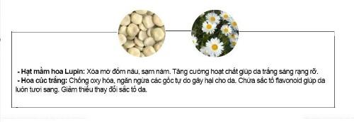 Serum chứa thành phần lành tính không gây kích ứng da