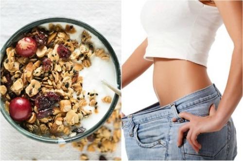 Ăn ngũ cốc kết hợp tập thể dục đều đặn giúp giảm cân nhanh