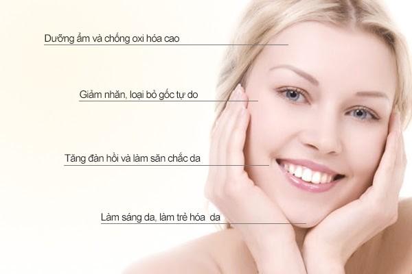 Olic mang đến nhiều công dụng khi Skincare