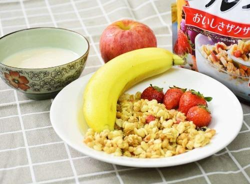 Có thể kết hợp ngũ cốc với sữa tươi và hoa quả hoặc rau xanh