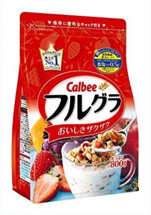 Ngũ cốc giảm cân Calbee dành cho người ăn kiêng hoặc cả gia đình
