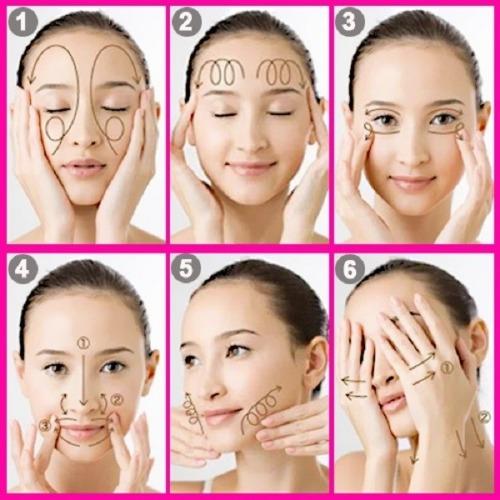 Massage giúp Serum dễ dàng thẩm thấu sâu vào trong da