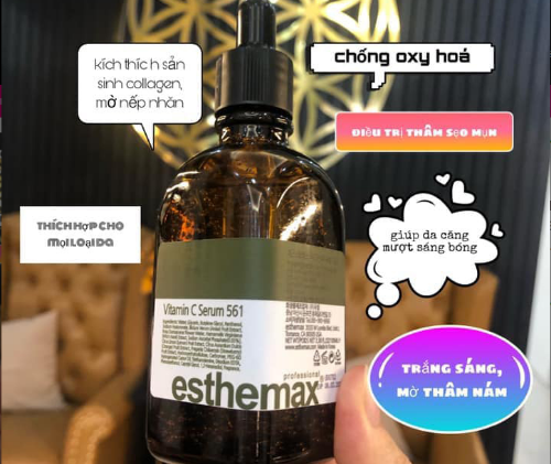Esthemax 561 dưỡng trắng da vượt trội