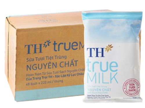 Sữa tươi không đường TH True Milk giúp Mẹ bầu không tăng cân