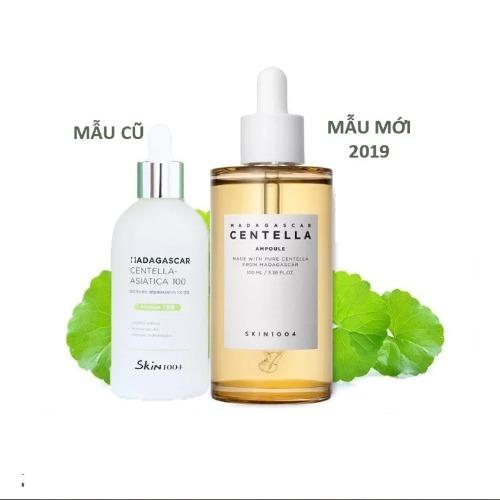 Mẫu cũ và mẫu mới của serum Skin1004