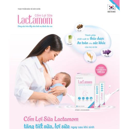 Tăng lượng sữa và canxi cho bé