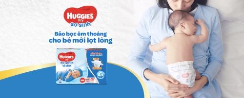 HUGGIES là thương hiệu bỉm thuộc công ty Kimberly-Clark (K-C)