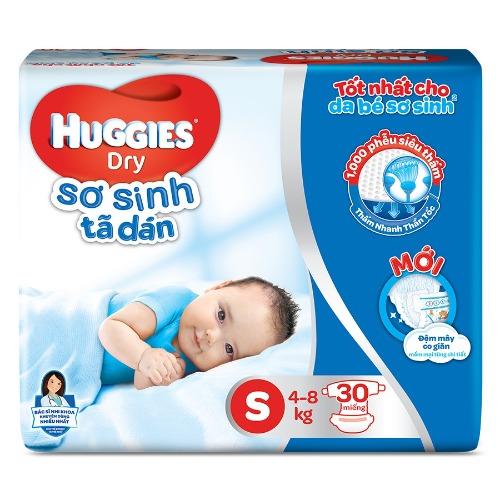 Bỉm dán Huggies NB 1 được nhiều Mẹ lựa chọn cho bé