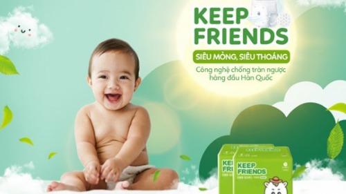 Keep Friends dịu nhẹ với mọi làn da, kể cả da nhạy cảm nhất