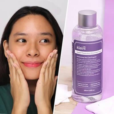 Nước cân bằng mang đến nhiều công dụng làm sạch da