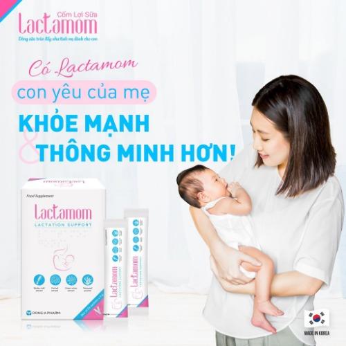 Cốm Lactamom cung cấp dưỡng chất thiết yếu giúp con yêu khỏe mạnh, thông minh hơn