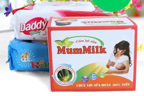 Cốm lợi sữa Mummilk màu vàng (mới)