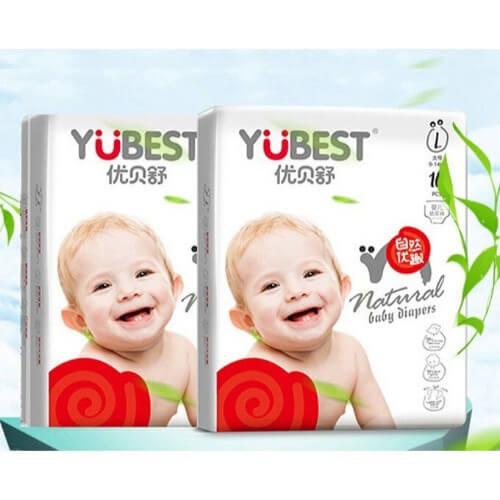 Yubest là thương hiệu bỉm nổi tiếng nội địa Trung