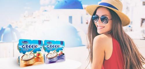 Sữa chua Vinamilk Greek giảm 50% béo so với sữa chua khác