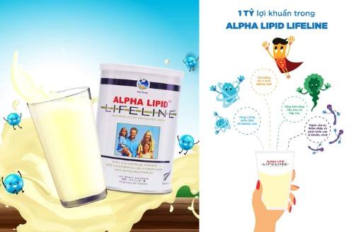 Alpha Lipid - sữa non mang đến nhiều công dụng