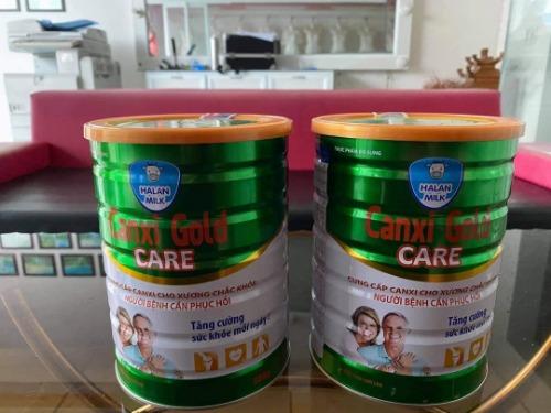 Gold Care là sữa bổ sung canxi được nhiều người lựa chọn