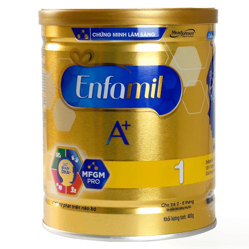 Sữa Enfamil nhận được nhiều sự quan tâm từ bà mẹ bỉm sữa