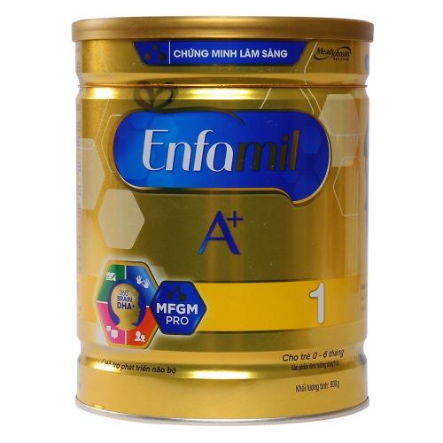 Enfamil A+ 1 nuôi dưỡng bé từ 0 đến 6 tháng