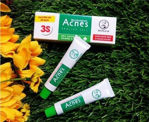 Kem trị mụn Acnes được bán phổ biến tai các trang TMĐT
