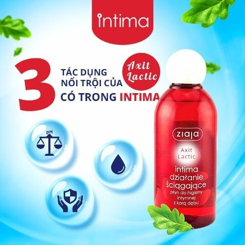 Intima giúp cân bằng độ pH tự nhiên của âm đạo