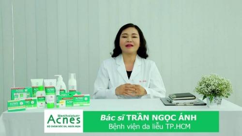 Acnes được chuyên khoa da liễu khuyên dùng để trị mụn