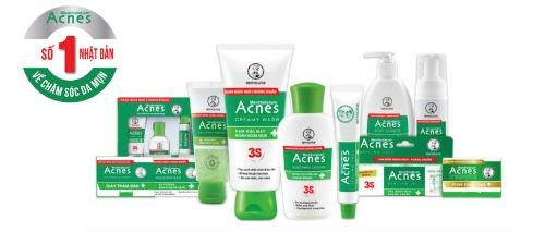 Acnes - Thương hiệu mỹ phẩm Nhật uy tín tại Việt Nam