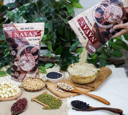 Bột Navan gia truyền được làm từ 7 loại hạt dinh dưỡng