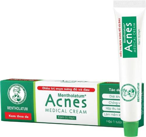 Kem trị mụn acnes dùng được cho bà bầu, Mẹ bỉm sữa