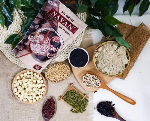 Ngũ cốc Navan gia truyền được bán phổ biến tại trang thương mại điện tử