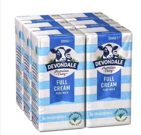Sữa Devondale - mang tới thức uống dinh dưỡng tốt nhất cho cả gia đình