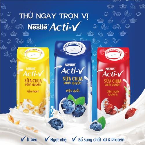 """Acti-V - sữa chua sánh quyện siêu """"HOT"""" đến từ thương hiệu Nestle"""