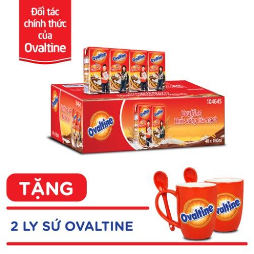 Ovaltine - nguồn dinh dưỡng vượt trội để con phát triển tốt nhất