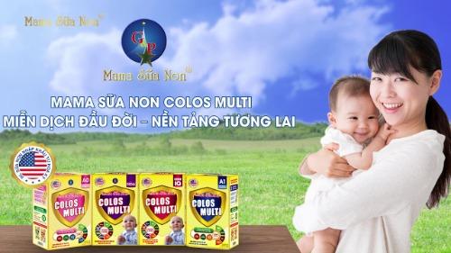 Mama sữa non- món quà tuyệt vời nhất mẹ dành cho con