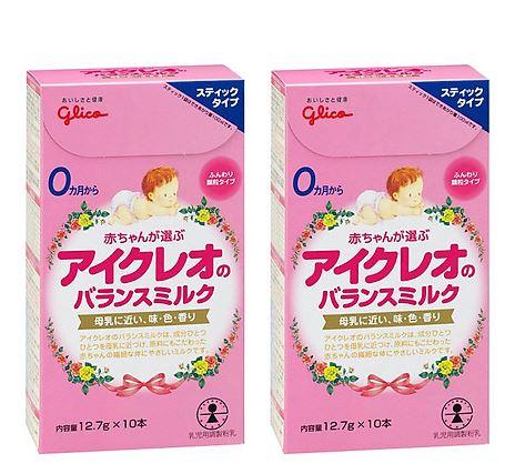 Glico sữa thanh tiện lợi cho Bé