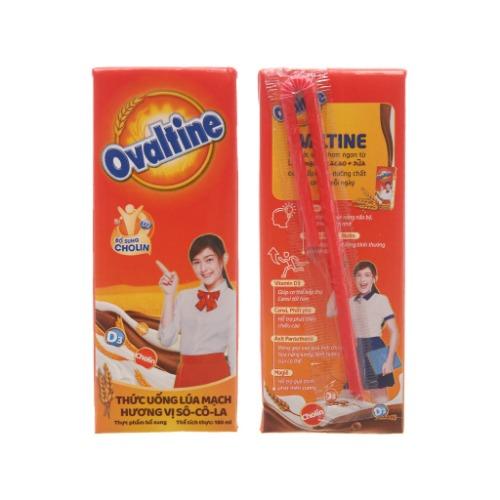 Ovaltine chiết xuất từ lúa mạch, giàu dinh dưỡng