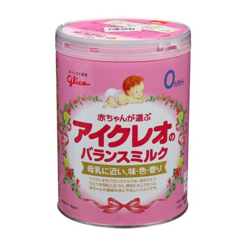 Glico thuộc tập đoàn Ezaki Glico - thương hiệu sữa công thức tốt nhất tại Nhật Bản