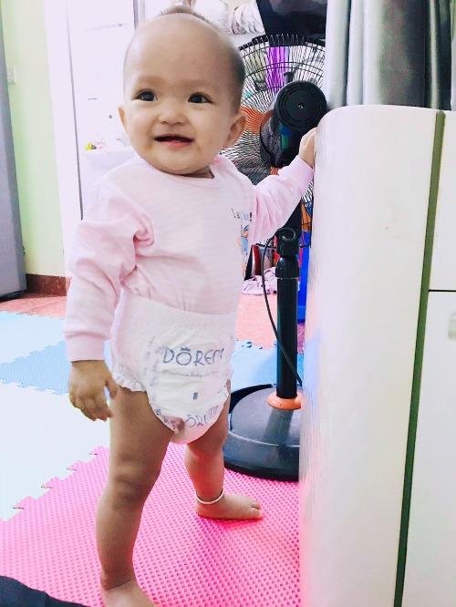 Bỉm Doremi giúp bé thoải mái vận động và ngủ ngon hơn